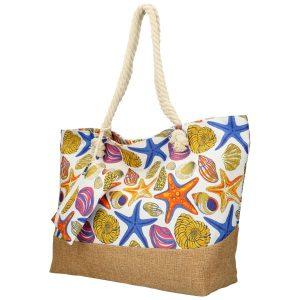 Veľká plážová taška cez rameno