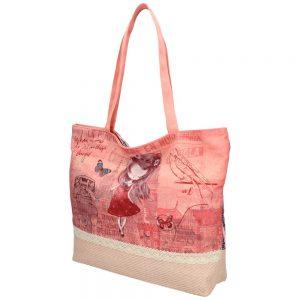 Sweet & Candy Veľká plážová taška s potlačou M4