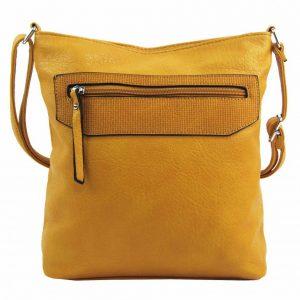 Žltá crossbody dámska kabelka FB1922