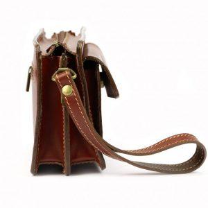 Čierna kožená pánska dokladová taška / etue Gregorio